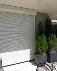 Slimline Home Security Roller Shutters